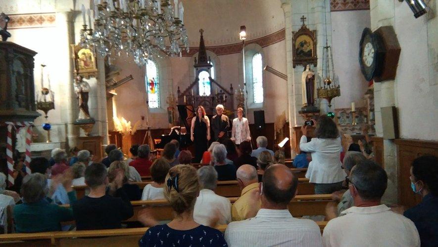 Les Fêtes musicales ont été ouvertes en compagnie de Marianne Croux, soprano passionnée de musique de chambre.