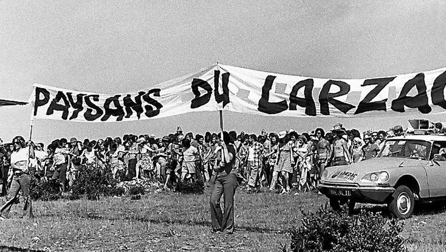 Les manifestations de soutien se sont multipliées sur le plateau du Larzac pendant ces dix années de lutte. Et même après, où lors de rendez-vous « anniversaire », le Larzac a été assailli.