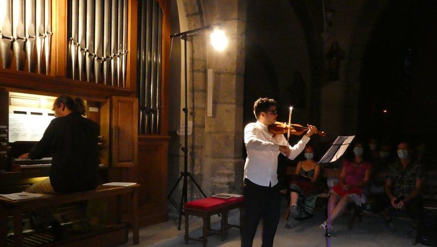 Frederick Camacho et Baptiste Genniaux ont donné un splendide concert.