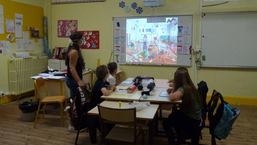 À l'école Saint-Hilarian,un stage de réussite scolairea eu lieu la semaine dernière.