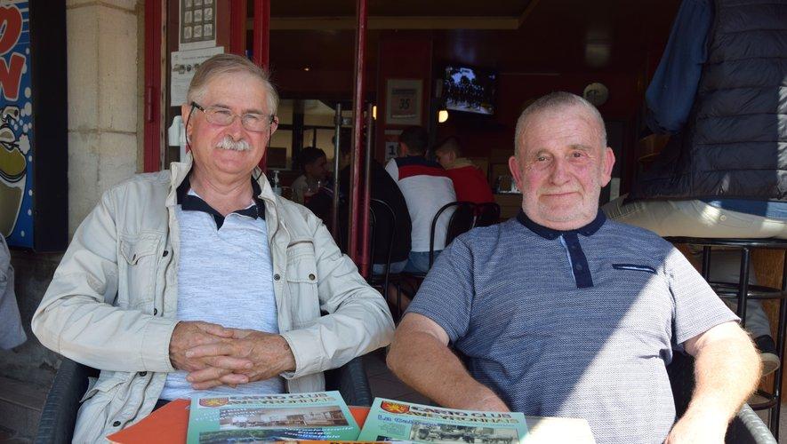Gilbert Regourd et Jean-Claude Vidal espèrent que les visiteurs répondront présents, malgré le contexte sanitaire.