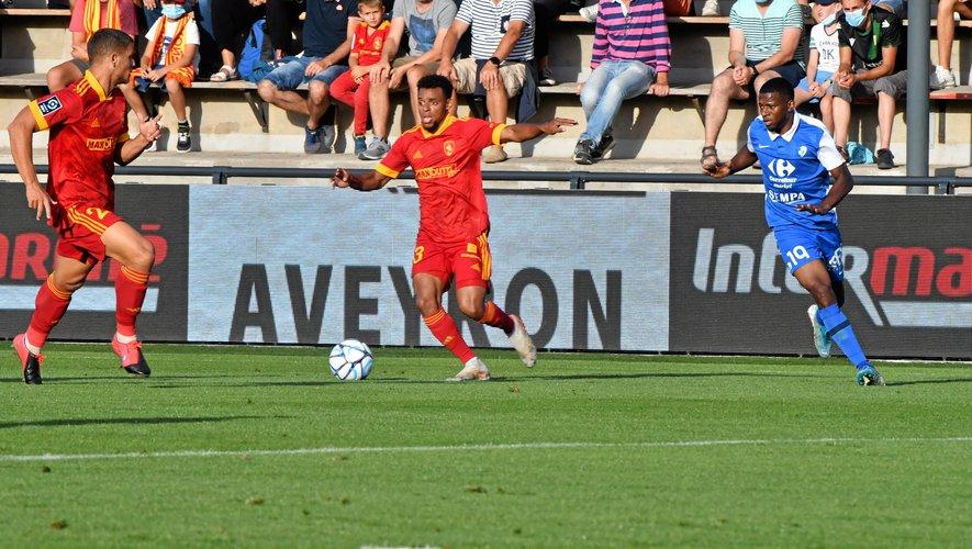 Johann Obiang est arrivé à Rodez en provenance du Puy lors de l'intersaison.