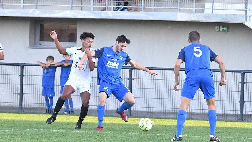 Julien Brunet a inscrit un doublé face à Toulouse Métropole.