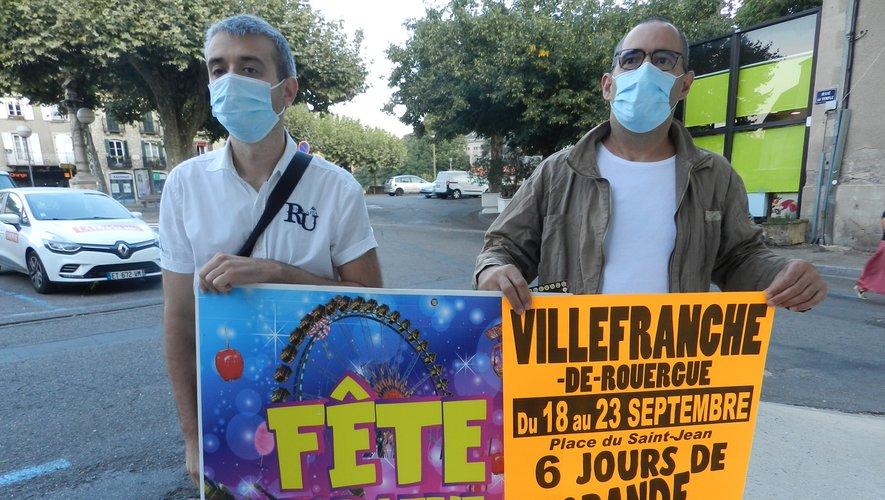 Arnaud Gonzalez et Franck Costa sont aux commandes de cette fête.