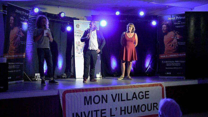 Un trio d'humoristes à saluer pour leur talent : il est parfois plus délicat de faire rire que pleurer.