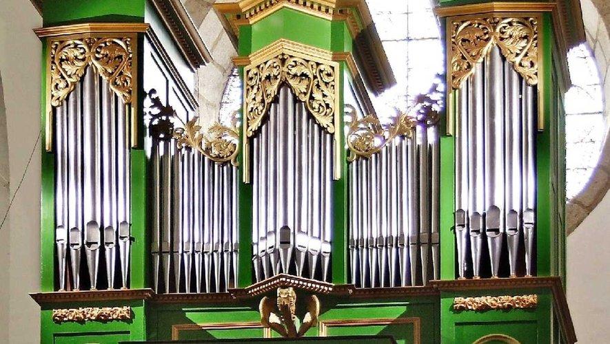 L'orgue d'Entraygues : une excellente sonorité.