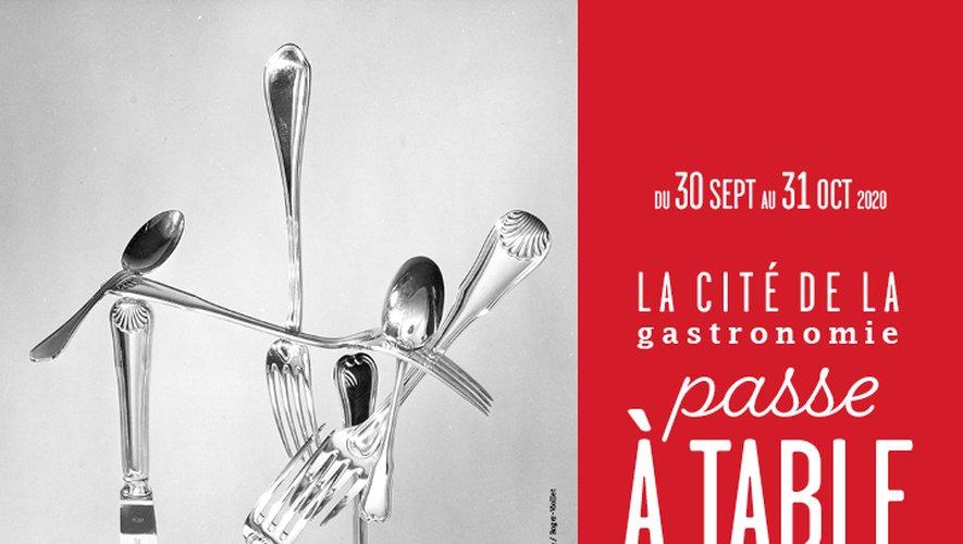 """L'exposition """"La cité de la gastronomie passe à table"""" fête les 10 ans de l'inscription du repas à la française à l'Unesco"""