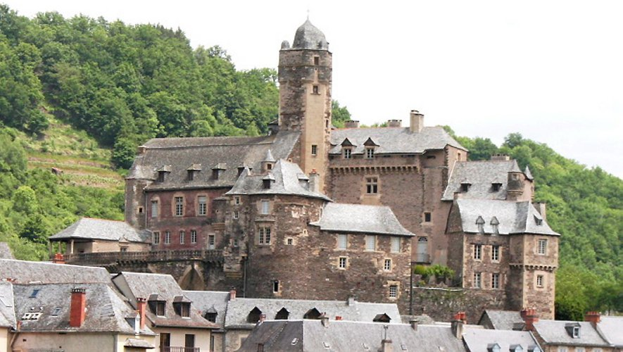 Le château d'Estaing, à découvrir ce week-end.