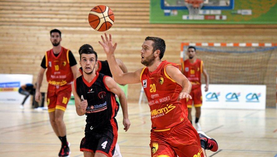 Rodez s'est impose 75-61 face à Cugnaux.