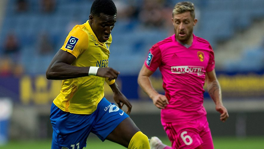Malgré deux buts de Rémy Boissier, les Ruthénois n'ont pas ramené la victoire de Sochaux.