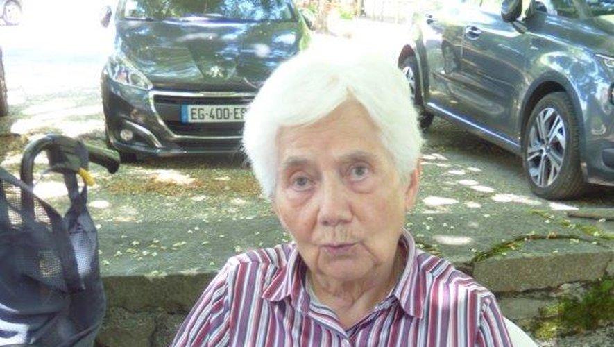 Bernadette Chaliez est âgée de 84 ans.
