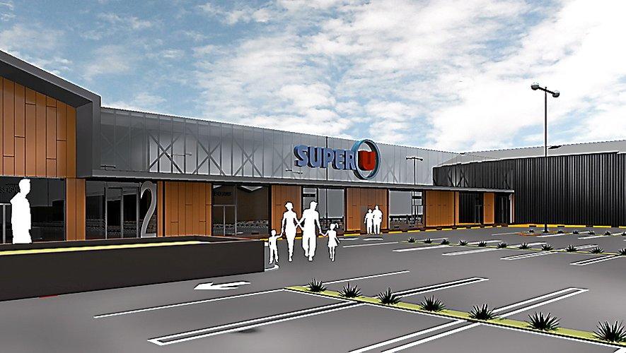 Le Supermarché tel qu'il sera livré en 2022