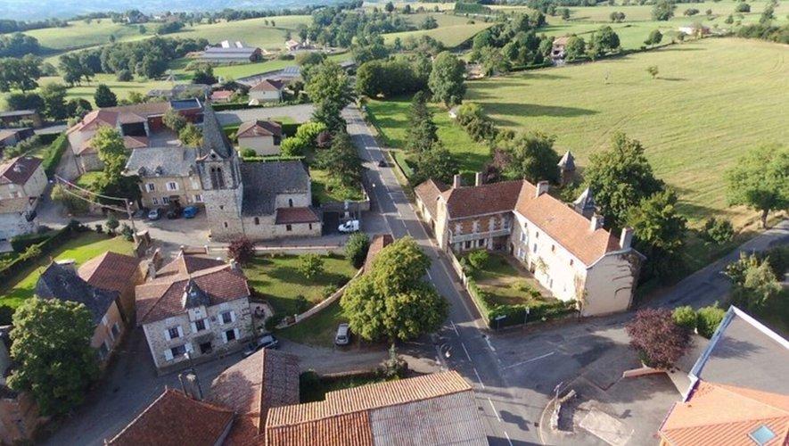 Le bourg de Saint-Julien de Piganiol.