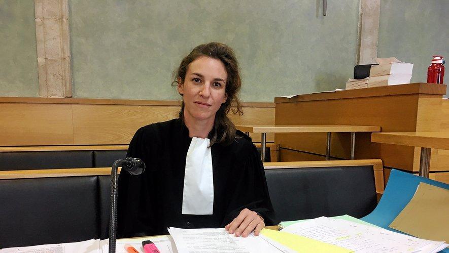 Me Elsa Cazor, avocate au barreau de l'Aveyron, plaidera de nouveau devant la cour d'assises de l'Aveyron,  cette fois dans le cadre d'une affaire de braquage à Perpignan, jugée en appel.