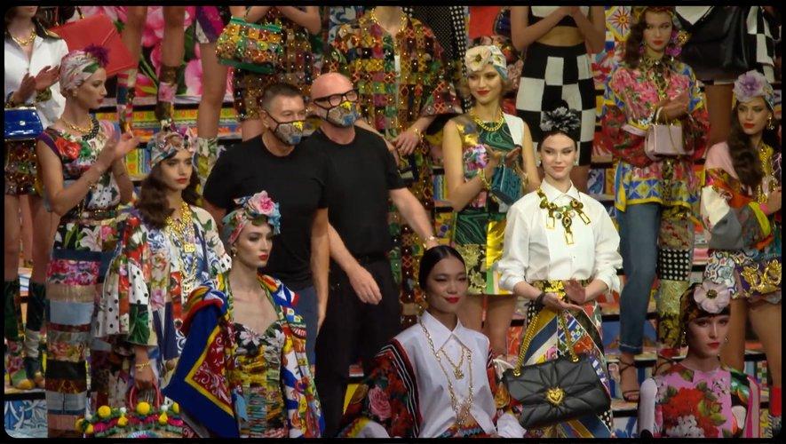 Focus sur le défilé de Dolce & Gabbana pendant la Fashion Week de Milan, par Paris Modes Insider.