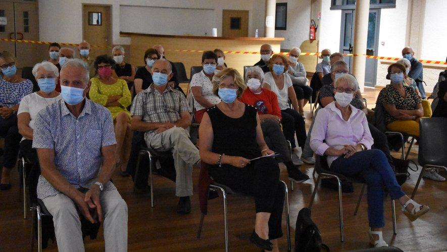 Malgré les contraintes sanitaires, une large majorité des adhérents avait répondu présent.