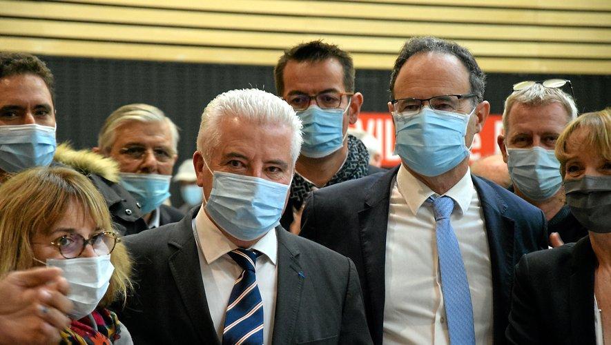 Jean-Claude Anglars et Alain Marc représenteront l'Aveyron au Sénat.  Ils ont été soutenus jusqu'au bout par Jean-Claude Luche, ancien pensionnaire du palais du Luxembourg (ci-dessous).