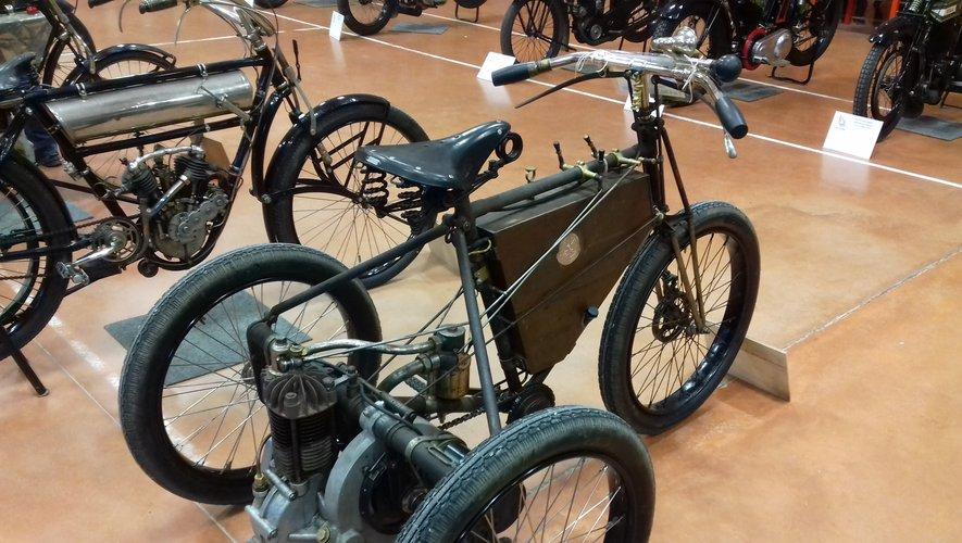 Tricycle Dedion Bouton de 1901 présent en 2019./Photo DDM