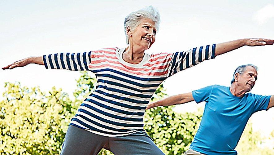 Des séances de sport  pour se maintenir en forme.