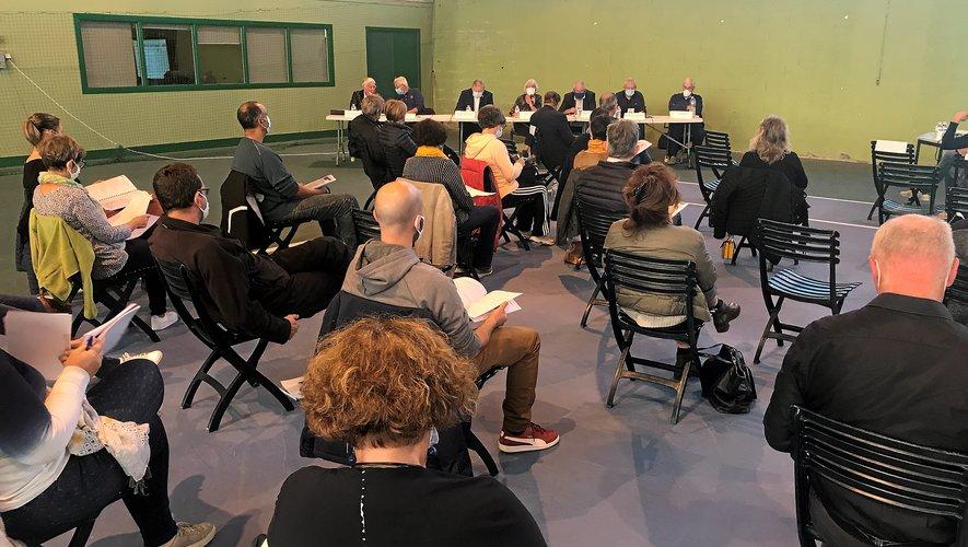 Hier, à Vabre, le comité départemental a tenu son assemblée générale.