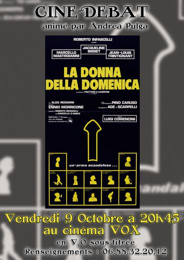 Le ciné italien revient vendredi prochain avec un film de Comencini