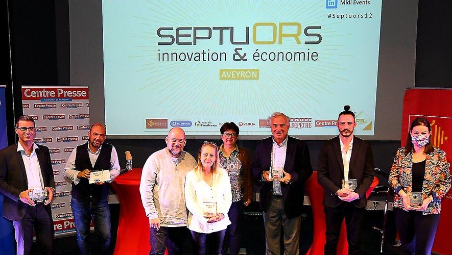 L'édition 2020 de Trophées Septuors a récompensé cette année sept entreprises aveyronnaises dans les locaux de la CCI de l'Aveyron, à Rodez.