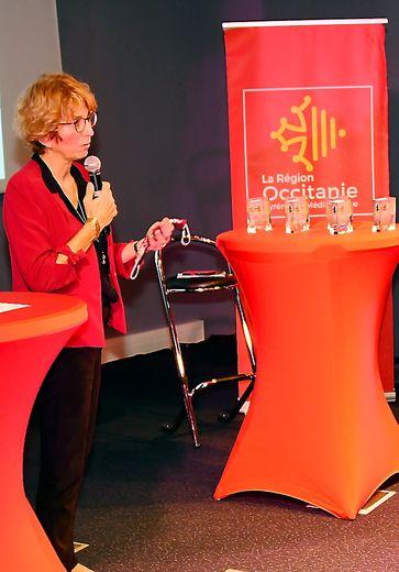 Claire Charbonnel, directrice générale déléguée des Journaux du Midi.