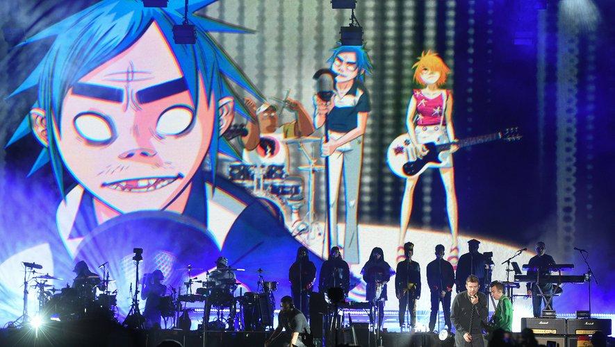 """Gorillaz, un des groupes de Damon Albarn (ex-Blur), sort un album le 23 octobre (""""Song Machine""""). Et des concerts sont programmés les 12 et 13 décembre depuis Londres pour diffusion mondiale en digital"""