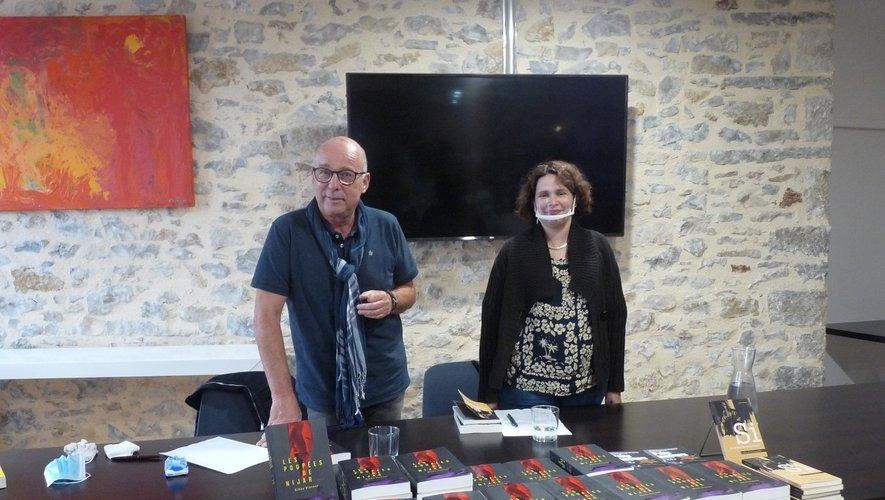 Une belle rencontre avec l'écrivain Gilles Vincent initiée par la libraire Muriel