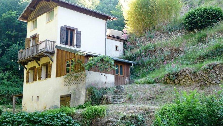 La maison d'Alizée à Roquebillière avant le drame...