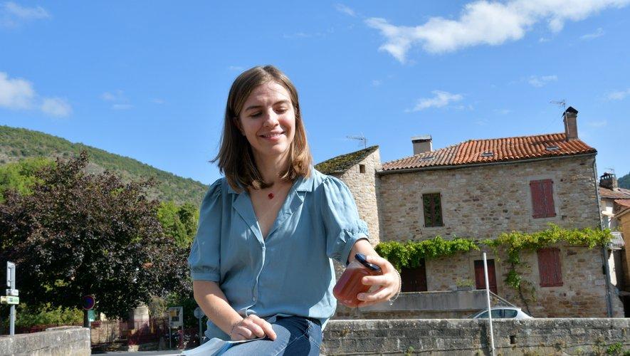Olga Gorbatchev veut faire rayonner les produits locauxen dehors des frontières de l'Aveyron.