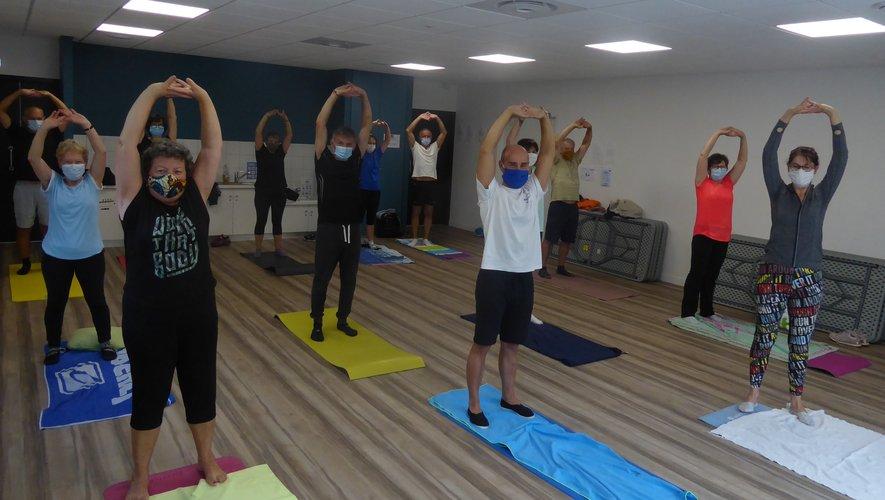 Les participants au premier cours, salle Terre des Hommes.