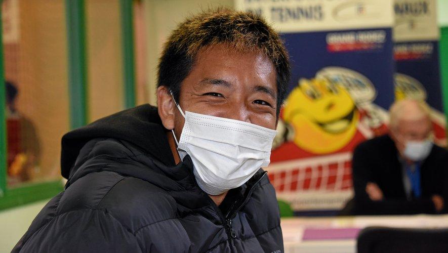 Shuichi Sékiguchi est lui en toute confiance.