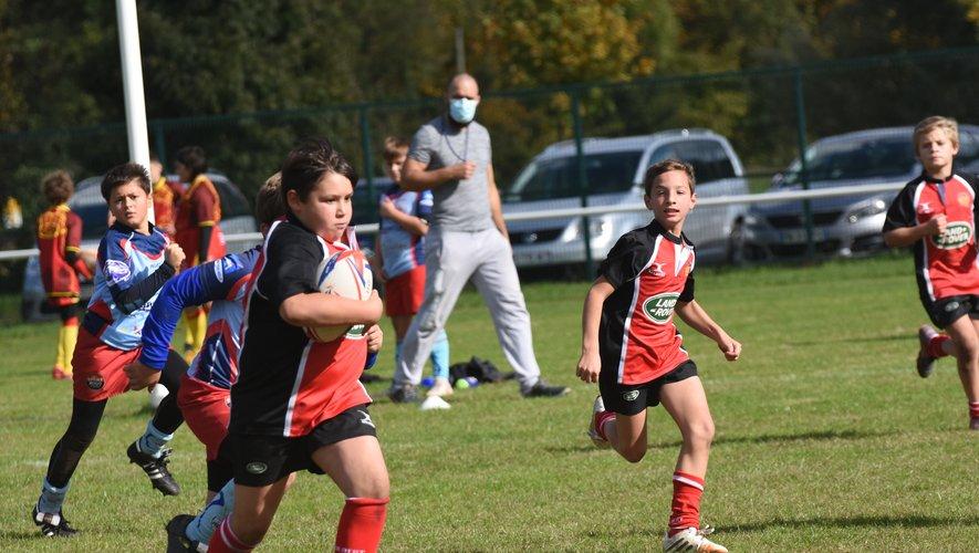 L'école de rugby retrouve la compétition