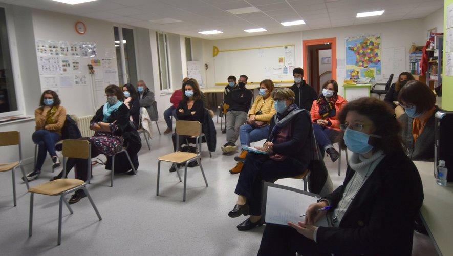 L'assistance à la réunion de l'APEL de l'école Ste Marie