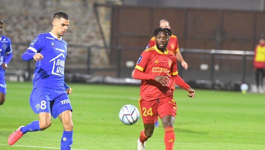 Rodez est confronté à Troyes ce soir dans le cadre de la 7e journée de Ligue.