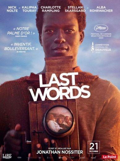 """""""Last Words"""" de Jonathan Nossiter faisait partie de la Sélection officielle Cannes 2020"""