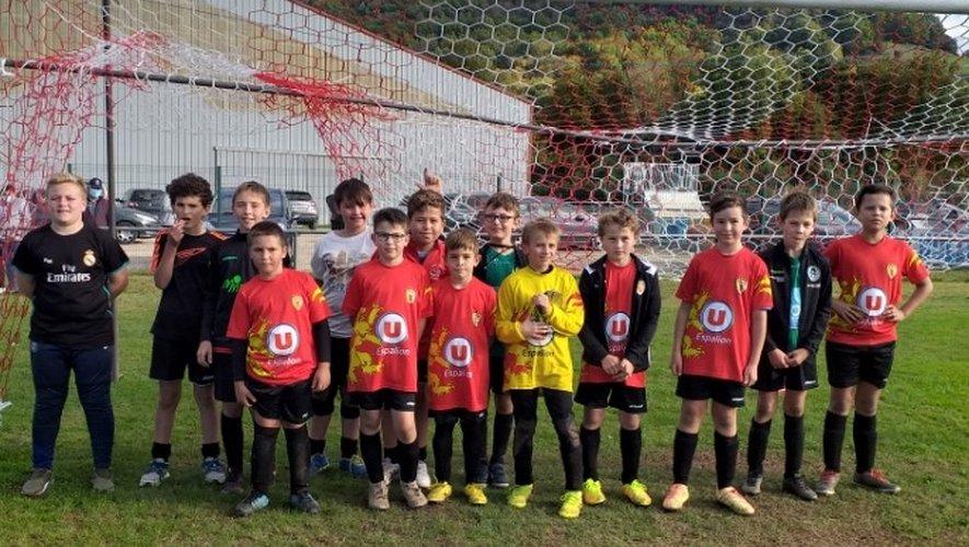 Les U11 ont participé à leur premier grand tournoi.