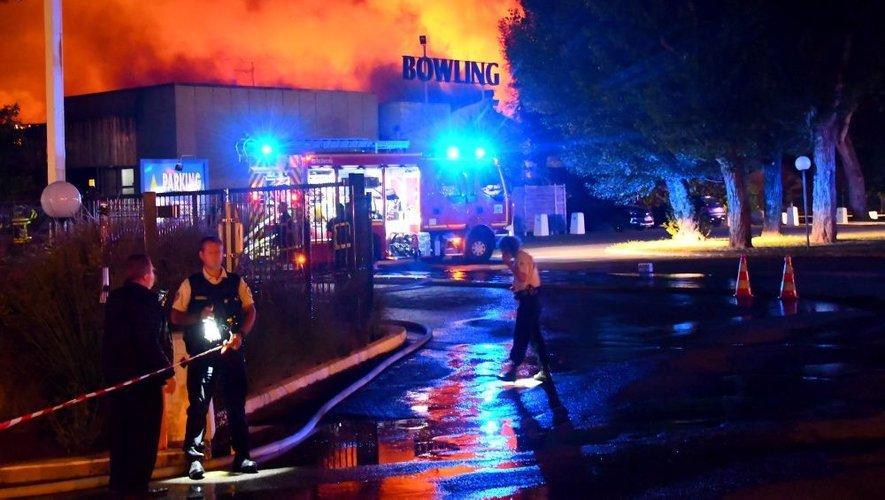 L'incendie du Bowling, le 30 juillet 2018.