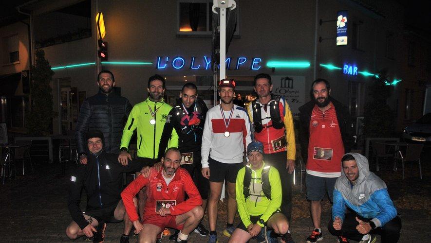 Les participants à la course.