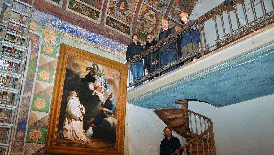 Le tableau est désormais exposé dans la chapelle où tout un chacun peut à nouveau l'admirer.