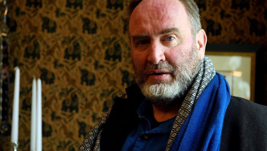 L'écrivain Serge Joncour