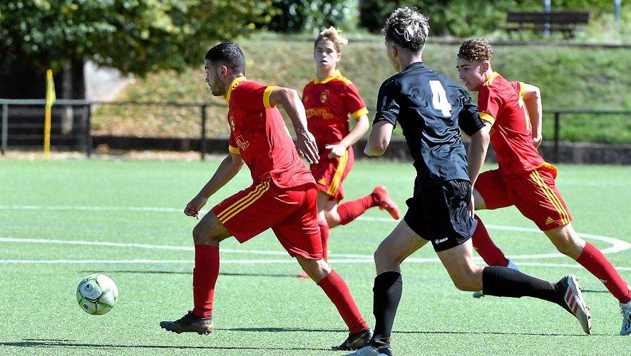 La formation, comme ici avec les U17 nationaux est une des pierres angulaires de l'association Raf.