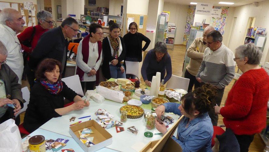 Début mars, les bibliothécaires ont organisé une rencontre ouverte à tous pour présenter la grainothèque.