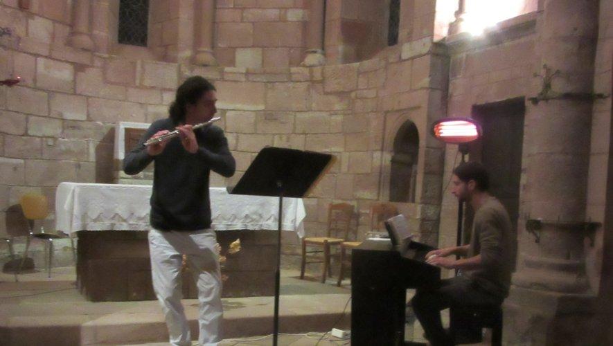 Une belle soirée musicale en compagnie de Jérémie et Gilles.