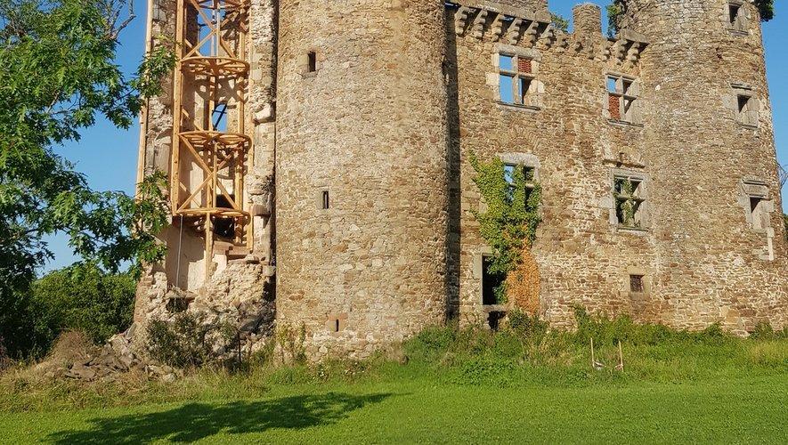 Le château de Pagax ouvert à la visite en fin de semaine