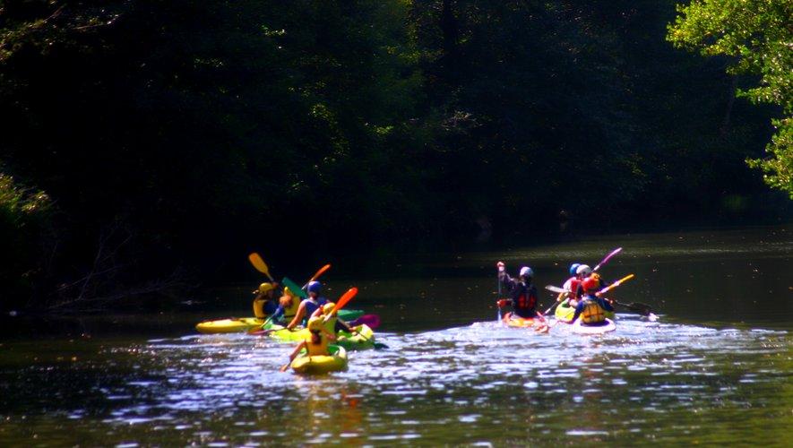 Le canoë c'est aussi un sport d'automne.