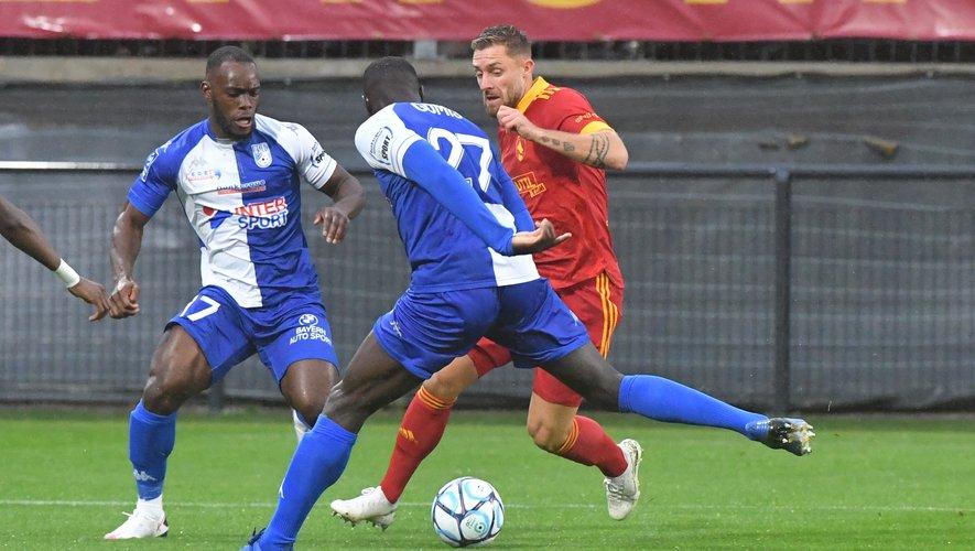 Rémy Boissier est de retour de suspension pour affronter Toulouse.