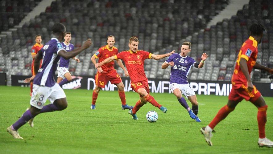 Toulouse et Rodez s'affrontent pour la première fois de leur histoire en compétition.
