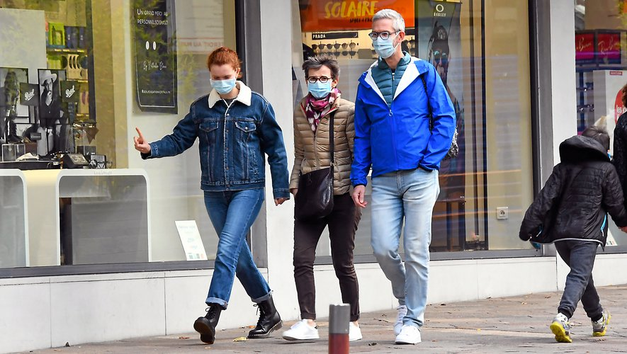 Le port du masque est désormais obligatoire  dans les rues de Rodez.